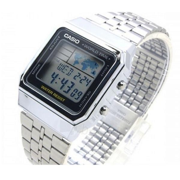 Vīriešu pulkstenis Casio A500WEA-1EF Paveikslėlis 3 iš 3 30069606784