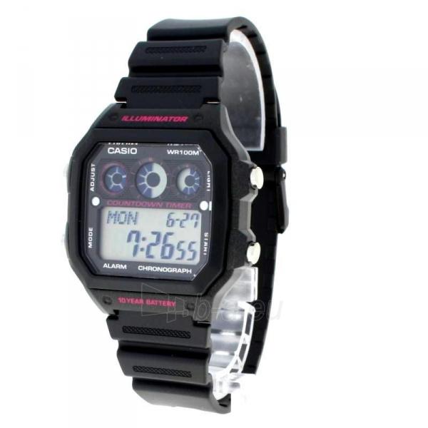 Vyriškas laikrodis Casio AE-1300WH-1A2VEF Paveikslėlis 6 iš 7 310820008920