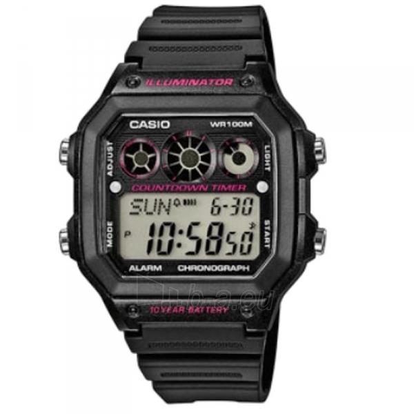 Vyriškas laikrodis Casio AE-1300WH-1A2VEF Paveikslėlis 7 iš 7 310820008920