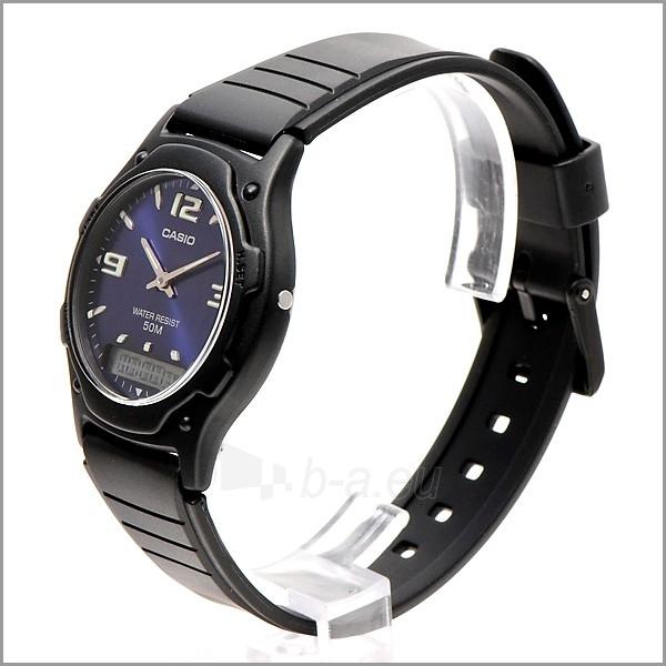 Male laikrodis Casio AW-49HE-2AVEF Paveikslėlis 2 iš 4 310820008947