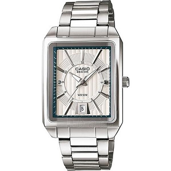 Vyriškas laikrodis Casio BEM-120D-7A Paveikslėlis 1 iš 3 30069601897