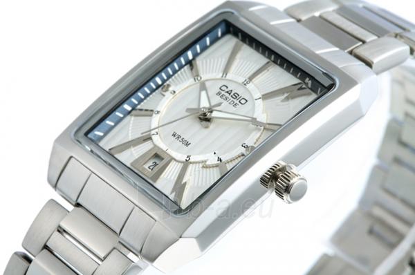 Vyriškas laikrodis Casio BEM-120D-7A Paveikslėlis 3 iš 3 30069601897