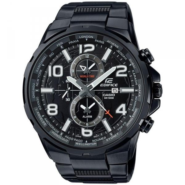 Male laikrodis Casio Edifice EFR-302BK-1AVUEF Paveikslėlis 1 iš 5 310820009036