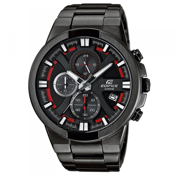 Male laikrodis Casio Edifice EFR-544BK-1A4VUEF Paveikslėlis 1 iš 4 310820008940
