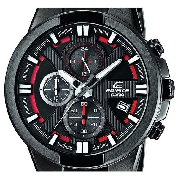 Male laikrodis Casio Edifice EFR-544BK-1A4VUEF Paveikslėlis 4 iš 4 310820008940