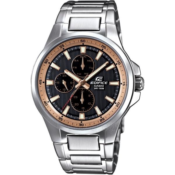 Vīriešu pulkstenis Casio EF-342D-1A5VEF Paveikslėlis 1 iš 3 30069605897