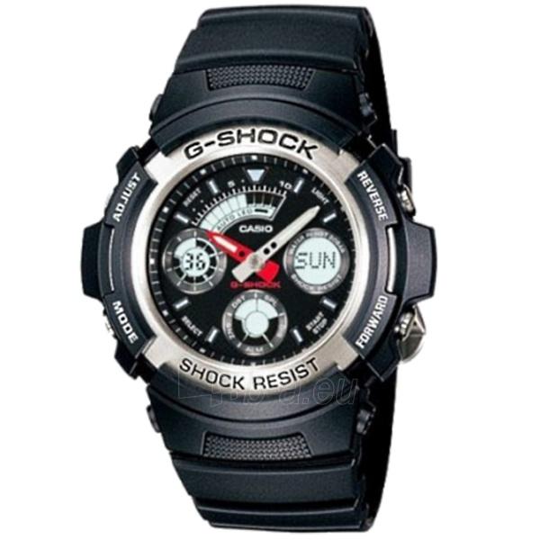 Vyriškas laikrodis Casio G-shock AW-590-1AER Paveikslėlis 1 iš 4 30069602163
