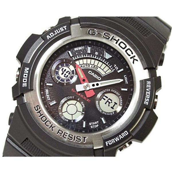 Vyriškas laikrodis Casio G-shock AW-590-1AER Paveikslėlis 3 iš 4 30069602163