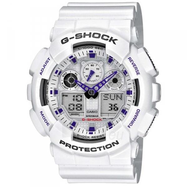 Vīriešu pulkstenis Casio G-Shock GA-100A-7AER Paveikslėlis 1 iš 1 310820018360