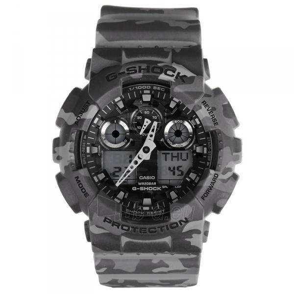 Male laikrodis Casio G-Shock GA-100CM-8AER Paveikslėlis 1 iš 1 310820008943