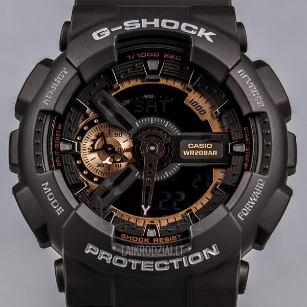 Male laikrodis Casio G-Shock GA-110RG-1AER Paveikslėlis 3 iš 5 30069606813
