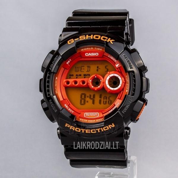 Male laikrodis Casio G-Shock GD-100HC-1ER Paveikslėlis 2 iš 6 30069606825