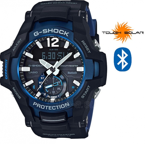 Vyriškas laikrodis Casio G-Shock Gravitymaster GR-B100-1A2 Paveikslėlis 1 iš 8 310820188567