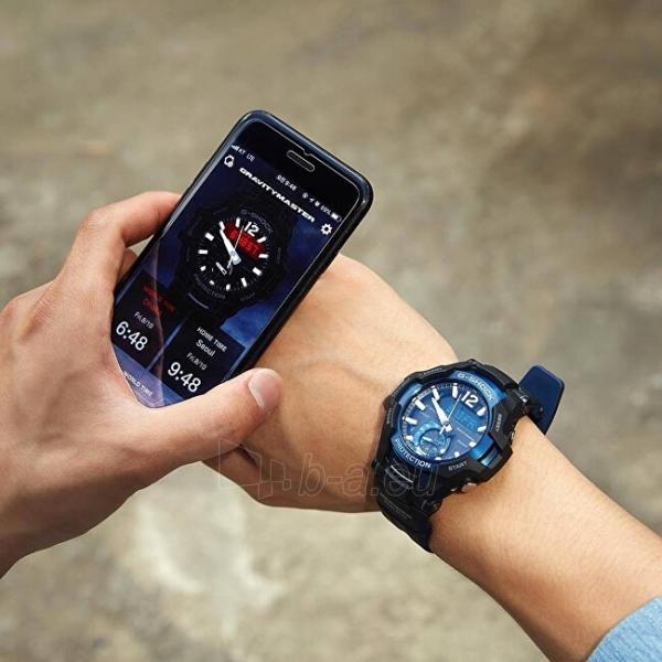 Vyriškas laikrodis Casio G-Shock Gravitymaster GR-B100-1A2 Paveikslėlis 5 iš 8 310820188567