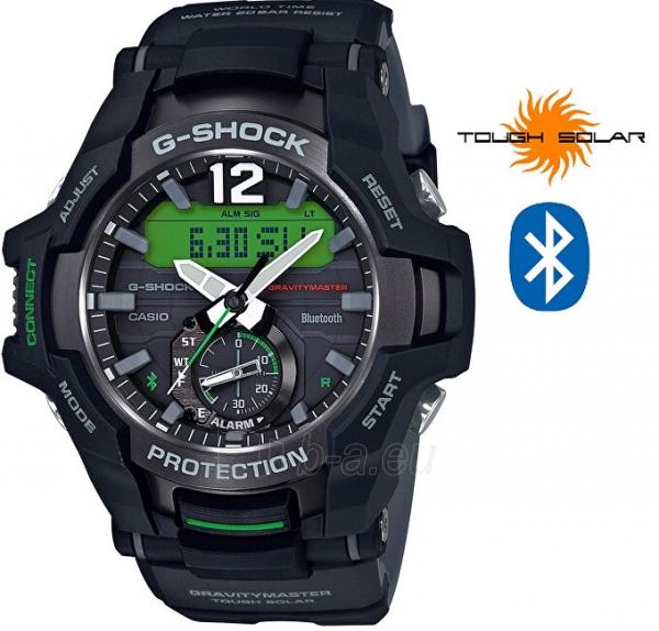 Vyriškas laikrodis Casio G-Shock Gravitymaster GR-B100-1A3 Paveikslėlis 1 iš 10 310820188519