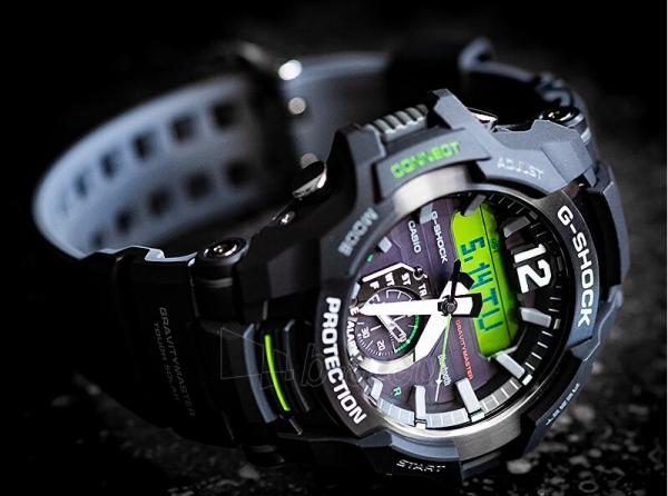 Vyriškas laikrodis Casio G-Shock Gravitymaster GR-B100-1A3 Paveikslėlis 2 iš 10 310820188519