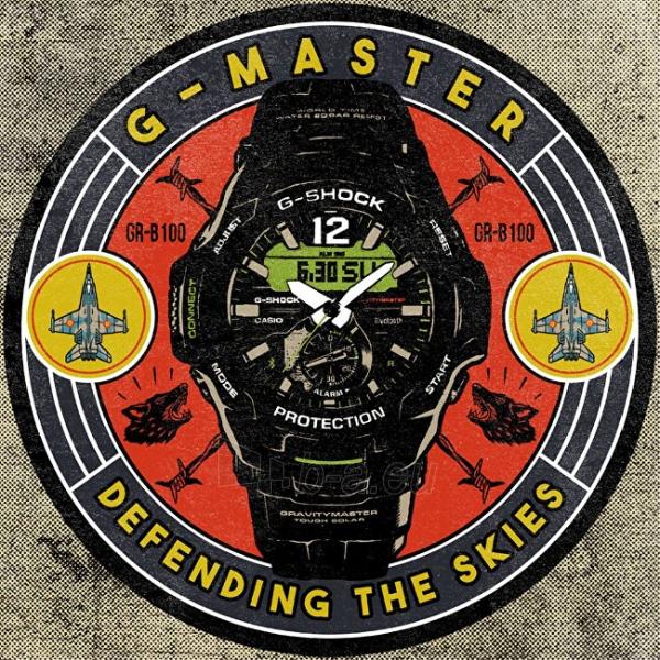Vyriškas laikrodis Casio G-Shock Gravitymaster GR-B100-1A3 Paveikslėlis 10 iš 10 310820188519