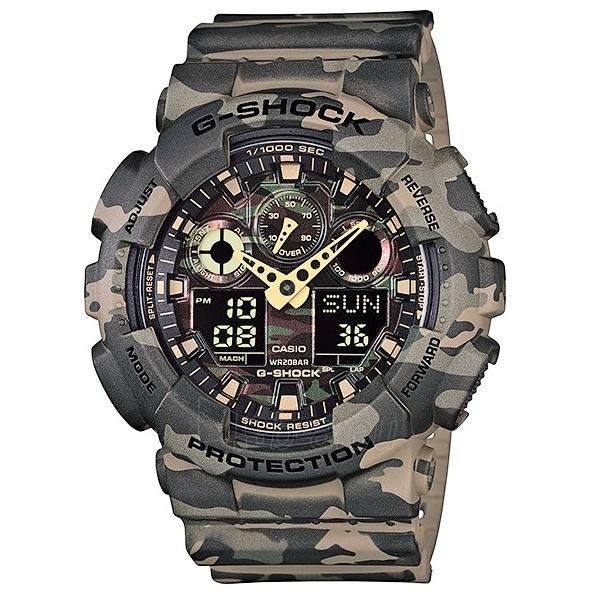 Vīriešu Casio pulkstenis GA-100CM-5AER Paveikslėlis 1 iš 6 30069604892