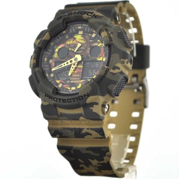 Vīriešu Casio pulkstenis GA-100CM-5AER Paveikslėlis 2 iš 6 30069604892