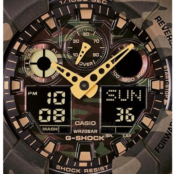 Vīriešu Casio pulkstenis GA-100CM-5AER Paveikslėlis 3 iš 6 30069604892