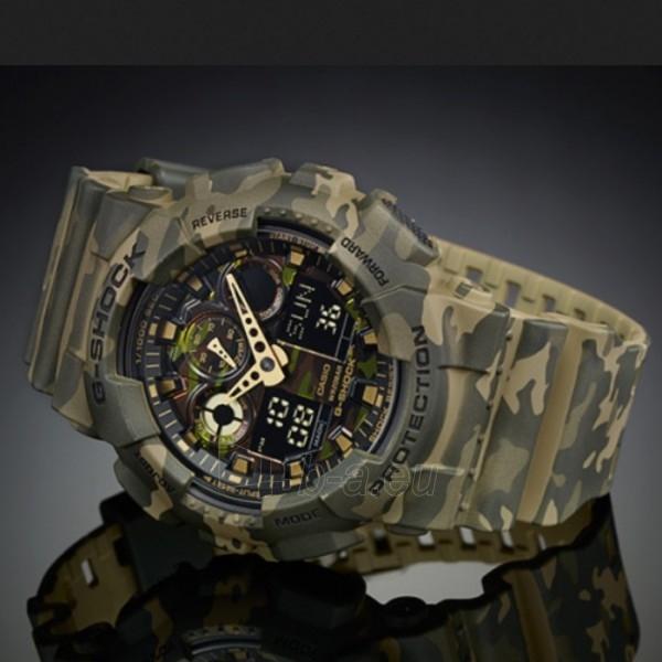 Vīriešu Casio pulkstenis GA-100CM-5AER Paveikslėlis 6 iš 6 30069604892