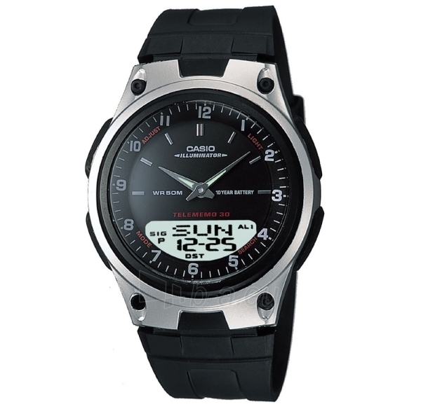 Male laikrodis Male Casio laikrodis AW-80-1AVES Paveikslėlis 1 iš 2 30069609667