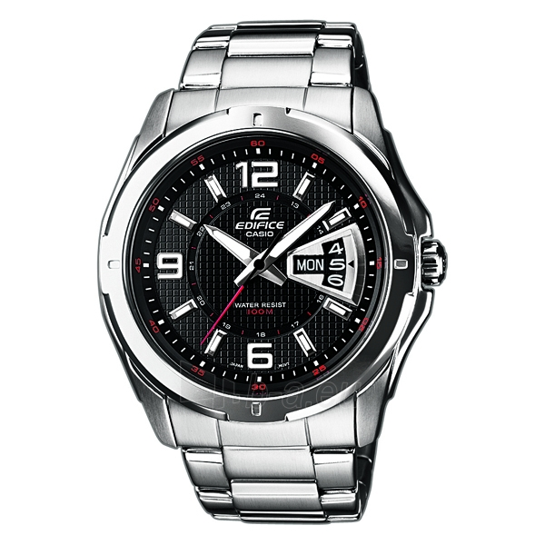 Male laikrodis Male Casio laikrodis EF-129D-1AVEF Paveikslėlis 1 iš 1 30069609674