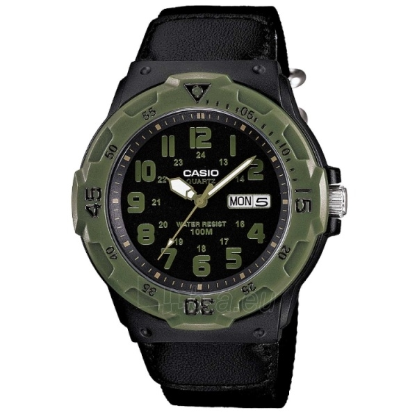 Vīriešu pulkstenis Casio MRW-200HB-1BVEF Paveikslėlis 1 iš 2 30069605913