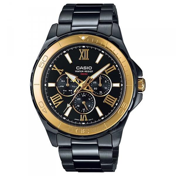 Male laikrodis Casio MTD-1075BK-1A9VEF Paveikslėlis 1 iš 4 310820008933