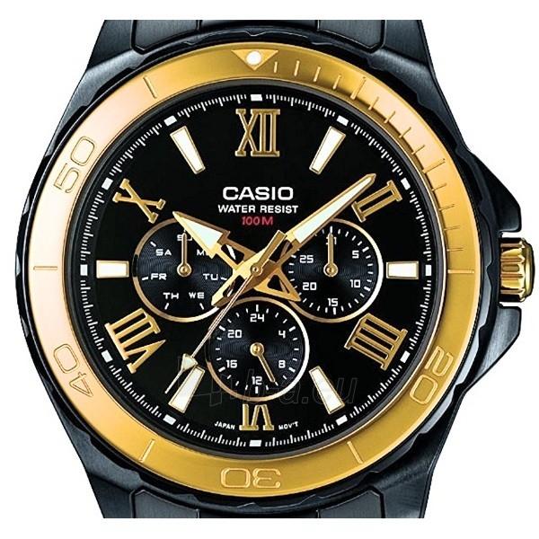 Male laikrodis Casio MTD-1075BK-1A9VEF Paveikslėlis 4 iš 4 310820008933
