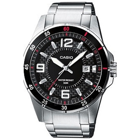 Vīriešu pulkstenis CASIO MTP-1291D-1A1VEF Paveikslėlis 1 iš 2 30069606988