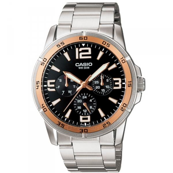 Vyriškas laikrodis Casio MTP-1299D-1AVEF Paveikslėlis 1 iš 7 30069606991