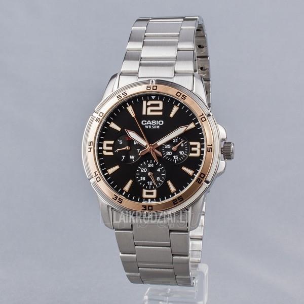 Vyriškas laikrodis Casio MTP-1299D-1AVEF Paveikslėlis 2 iš 7 30069606991