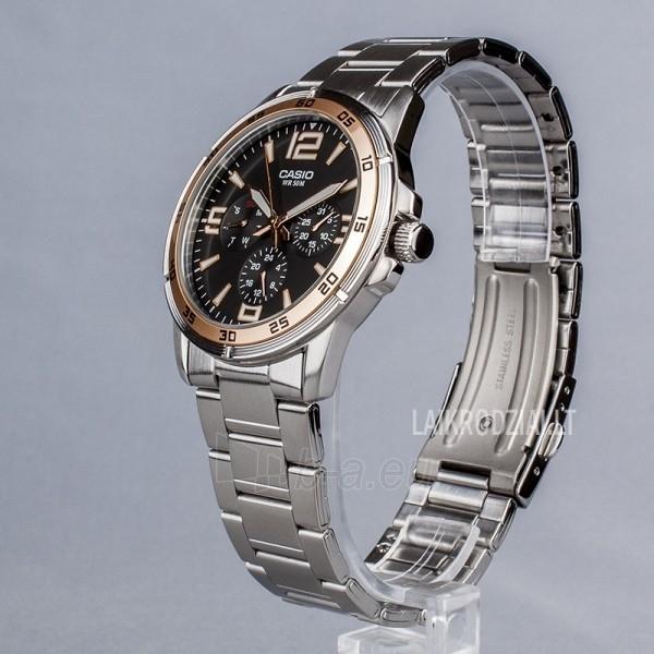 Vīriešu pulkstenis Casio MTP-1299D-1AVEF Paveikslėlis 3 iš 7 30069606991
