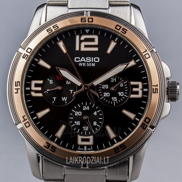 Vīriešu pulkstenis Casio MTP-1299D-1AVEF Paveikslėlis 4 iš 7 30069606991