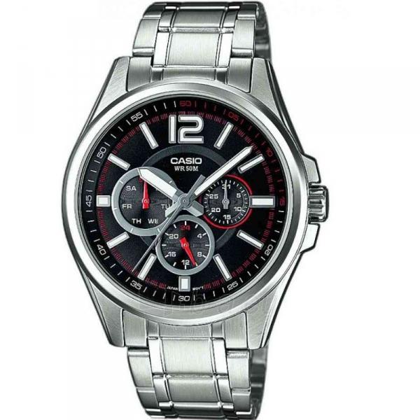 Vīriešu pulkstenis Casio MTP-1355D-1AVEF Paveikslėlis 1 iš 2 30069607047