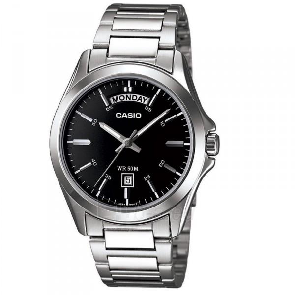 Vyriškas laikrodis Casio MTP-1370D-1A1VEF Paveikslėlis 1 iš 5 30069607053