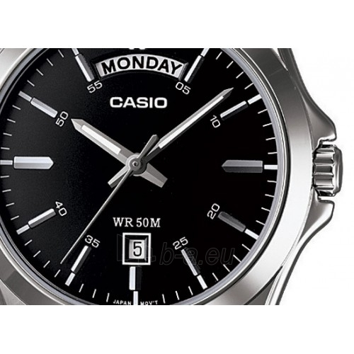 Vyriškas laikrodis Casio MTP-1370D-1A1VEF Paveikslėlis 3 iš 5 30069607053