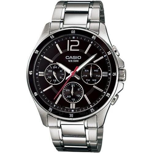 Vīriešu pulkstenis Casio MTP-1374D-1AVEF Paveikslėlis 1 iš 3 310820009584