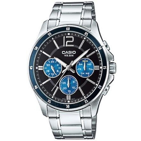 Vyriškas laikrodis Casio MTP-1374D-2AVEF Paveikslėlis 1 iš 1 310820009600