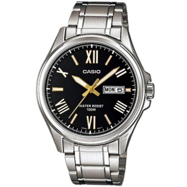 Vyriškas laikrodis Casio MTP-1377D-1AVEF Paveikslėlis 1 iš 1 30069607069