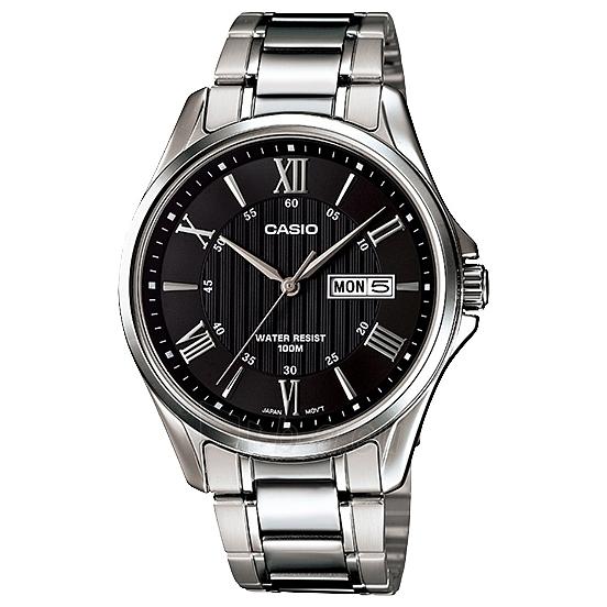 Vyriškas laikrodis Casio MTP-1384D-1AVEF Paveikslėlis 1 iš 1 310820009622