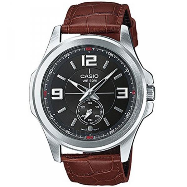 Vīriešu pulkstenis Casio MTP-E112L-1AVEF Paveikslėlis 1 iš 1 310820009609