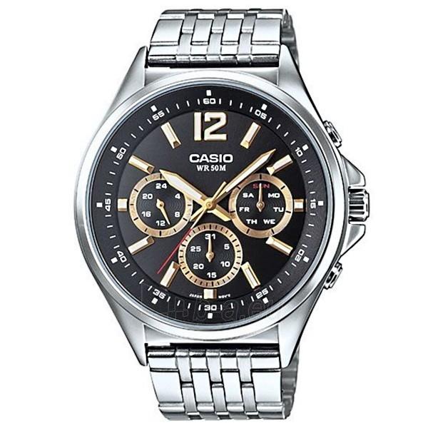 Male laikrodis CASIO MTP-E303D-1AVEF Paveikslėlis 1 iš 3 310820009602