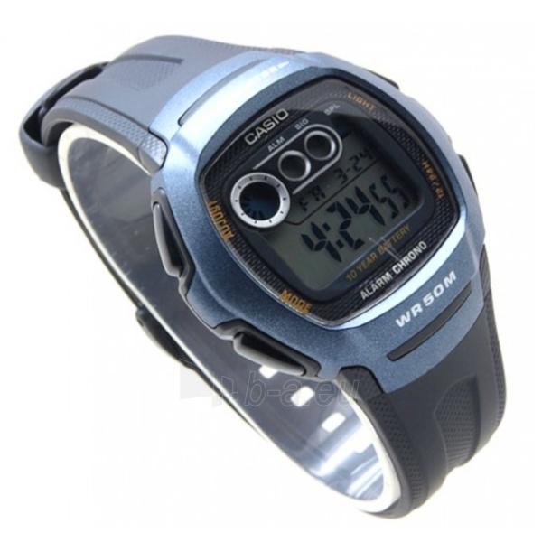 Vīriešu pulkstenis Casio W-210-1BVES Paveikslėlis 3 iš 5 30069607164