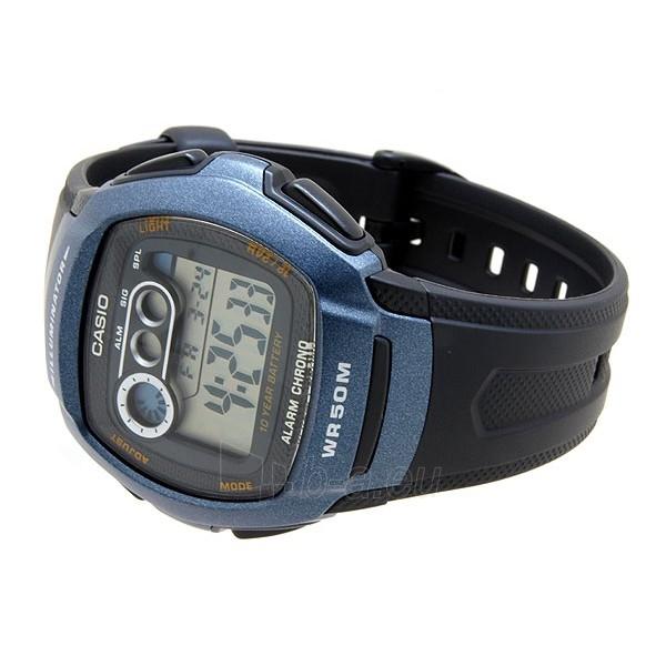 Vīriešu pulkstenis Casio W-210-1BVES Paveikslėlis 4 iš 5 30069607164