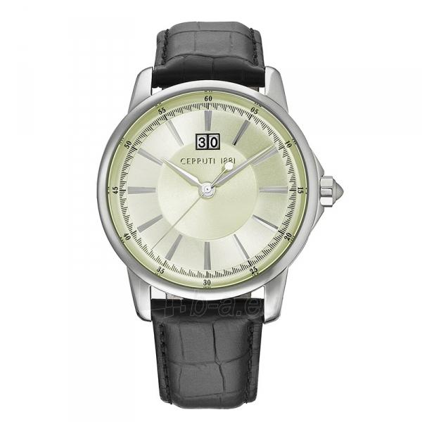 Vyriškas laikrodis Cerruti 1881 CRA072A282B Paveikslėlis 1 iš 1 30069607180