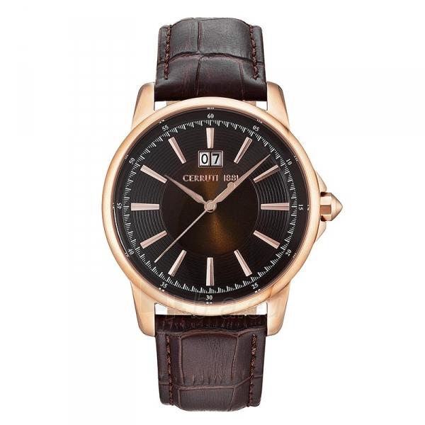Male laikrodis Cerruti 1881 CRA072SR12BR Paveikslėlis 1 iš 1 30069607318