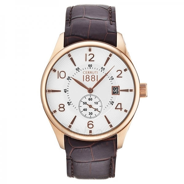 Male laikrodis Cerruti 1881 CRA098C213D Paveikslėlis 1 iš 1 30069607325