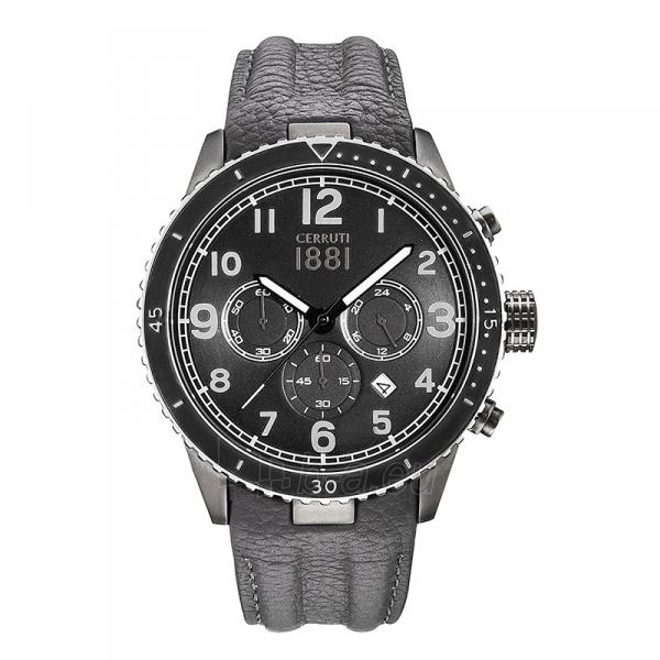 Male laikrodis Cerruti 1881 CRA104SUB02GY Paveikslėlis 1 iš 1 30069607327